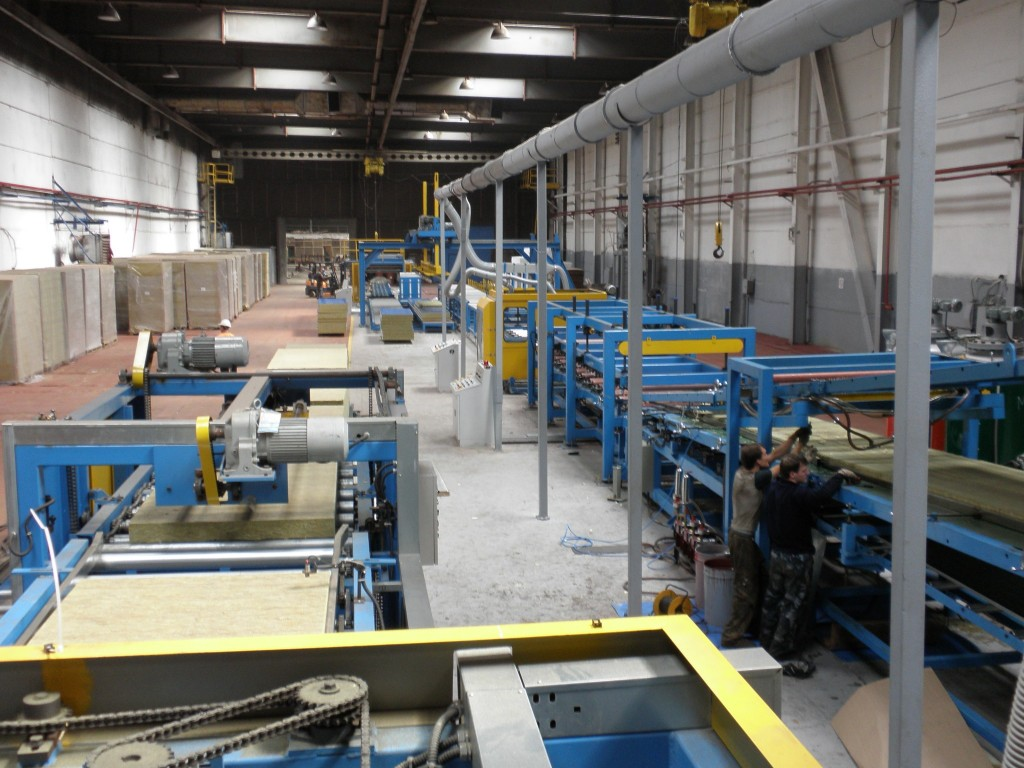 Sandwich Panel Manufacturer Usa : Mineral wool sandwich panel line kindus