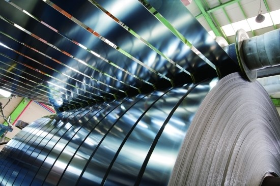 steel slitter machine