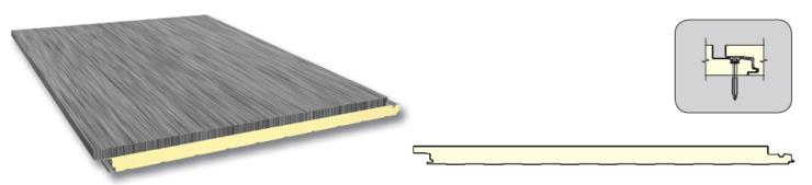 Metal sandwich panel