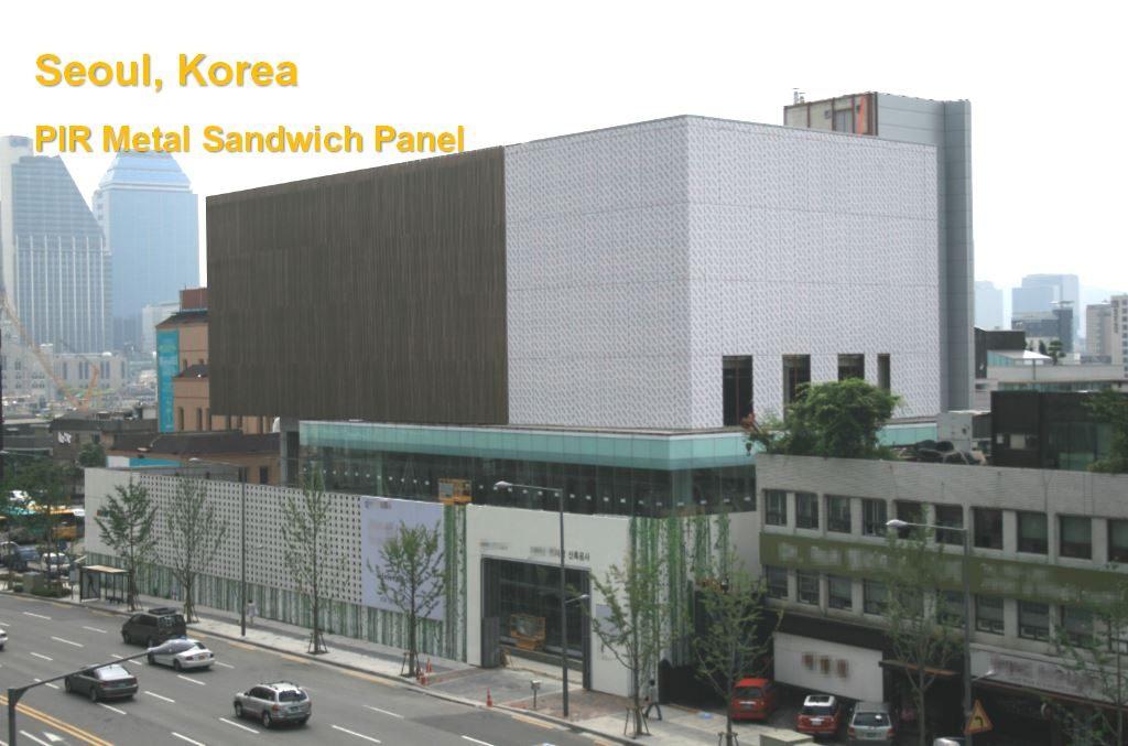 PIR metal sandwich panel | KINDUS
