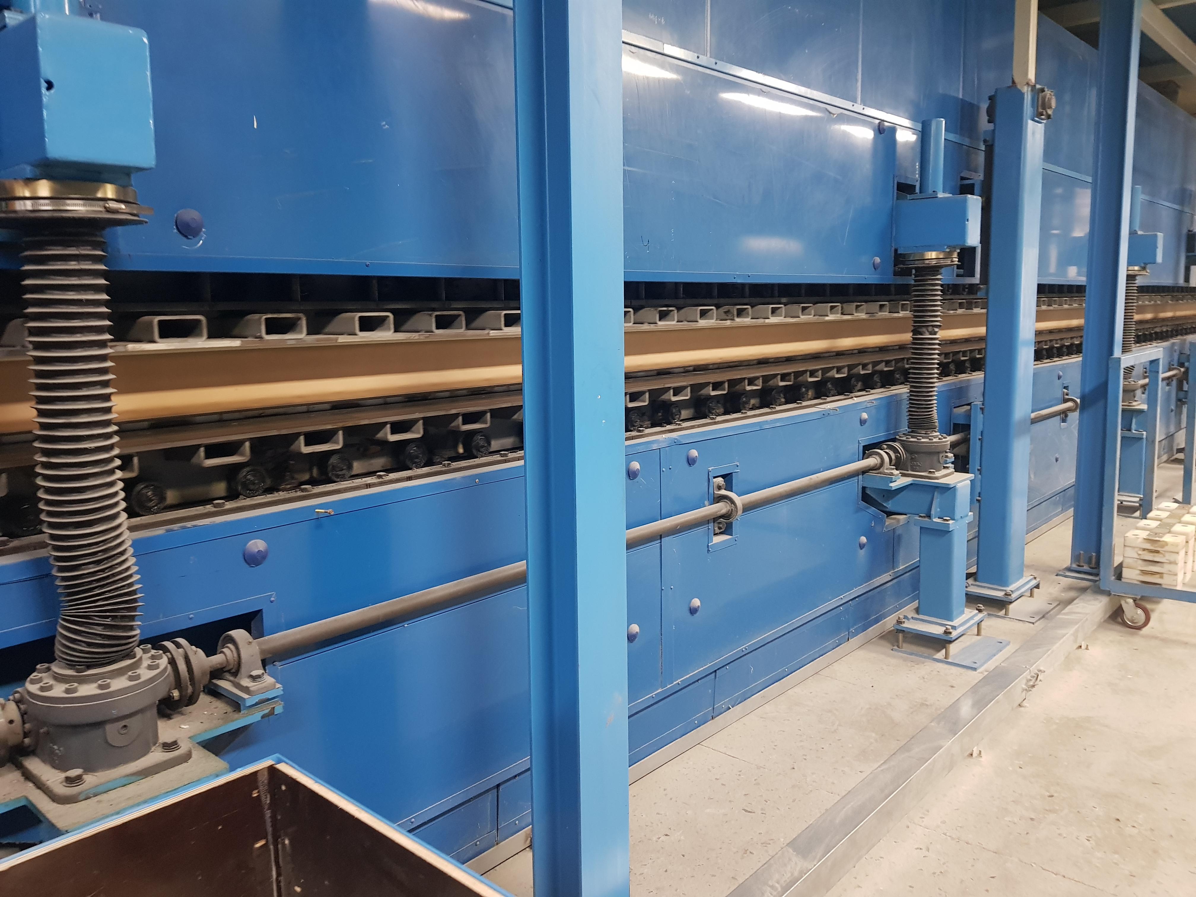 22m PIR sandwich panel production line